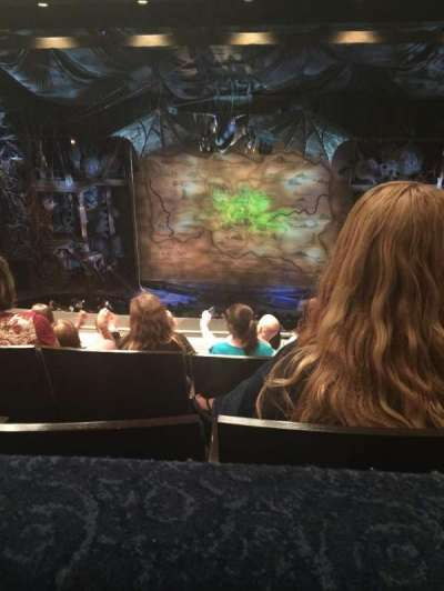 Gershwin Theatre Section Mezz Row F Seat 116