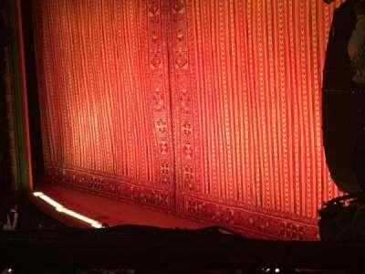 New Amsterdam Theatre, section: Mezz, row: BB, seat: 28