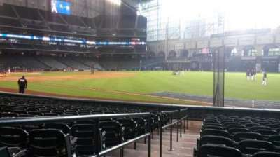 Minute Maid Park, section: 132, row: 13, seat: 1 and 2
