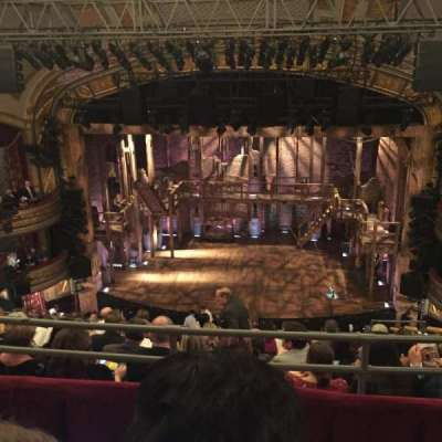 Richard Rodgers Theatre, section: Rear Mezzanine, row: B, seat: 103