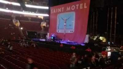 Wells Fargo Center, section: 114, row: 6, seat: 5