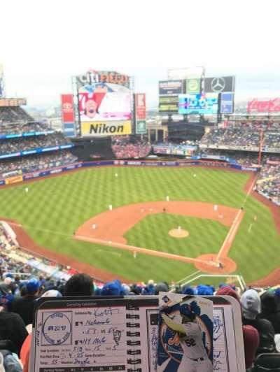 Citi Field, section: 515, row: 15, seat: 8