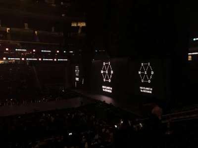 Prudential Center, section: 9, row: 18, seat: 9