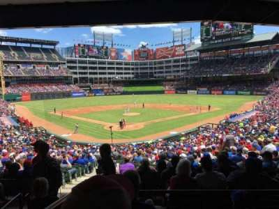 Globe Life Park in Arlington section 127