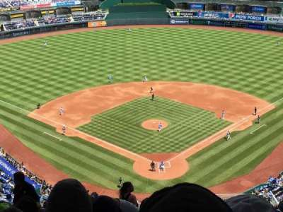 Kauffman Stadium, section: Up high, row: RR, seat: 1-7