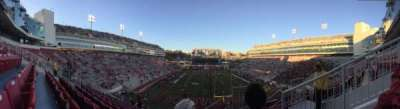 Razorback Stadium section 224