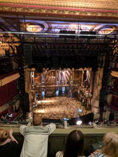 PrivateBank Theatre, section: Balcony LC, row: C , seat: 413