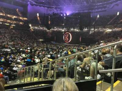 Sprint Center, section: 120, row: 8, seat: 2
