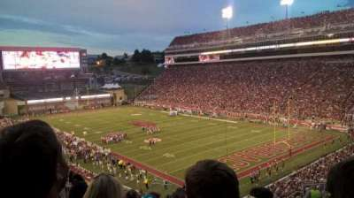 Razorback Stadium, section: 228, row: 21, seat: 12 and 13
