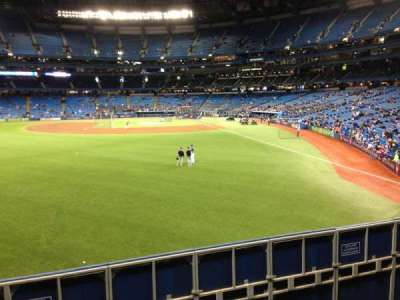 Rogers Centre, row: 3, seat: 1