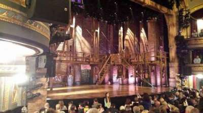 Richard Rodgers Theatre, section: orchestra, row: L, seat: 25