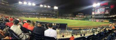 Nationals Park, section: 133, row: F, seat: 13