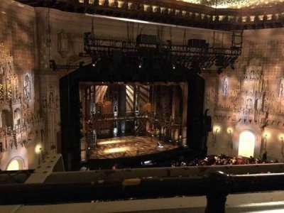 Orpheum Theatre (San Francisco), section: Balc, row: A, seat: 3