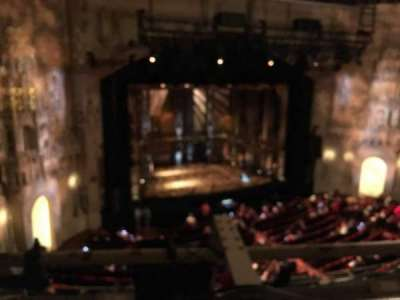 Orpheum Theatre (San Francisco), section: Balc, row: A, seat: 1