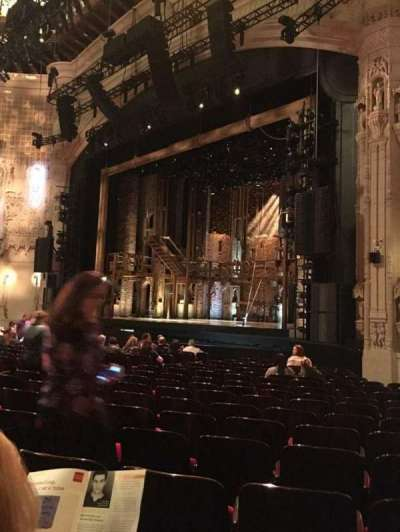 Orpheum Theatre (San Francisco), section: Orchestra, row: S, seat: 24