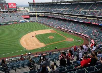 Angel Stadium, section: V512, row: G, seat: 8