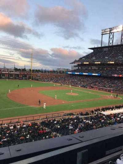 AT&T Park, section: 226, row: A, seat: 2