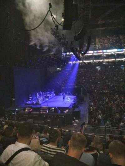 The O2 Arena, section: 101, row: S, seat: 21