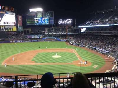 Citi Field, section: 325, row: 3, seat: 2