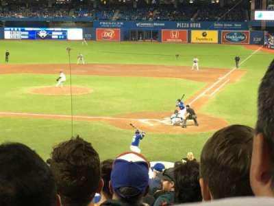 Rogers Centre, section: 124R, row: 32, seat: 7