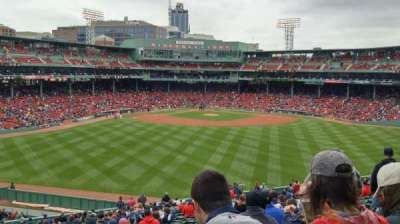 Fenway Park, section: 37, row: 35, seat: 18