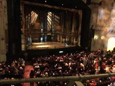 Orpheum Theatre (San Francisco), section: Loge, row: A, seat: 2