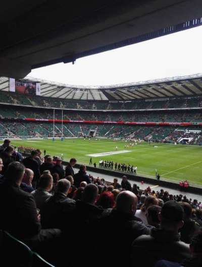 Twickenham Stadium, section: L21, row: 38, seat: 105