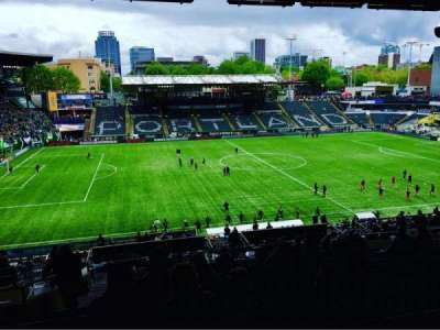 Providence Park, section: 215, row: Q, seat: 4,5