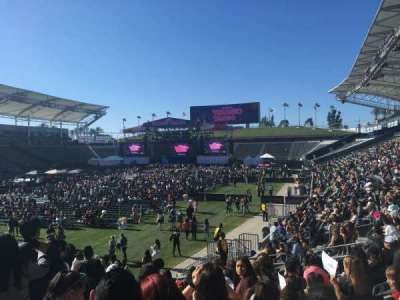 StubHub Center, section: 138, row: Q, seat: 19