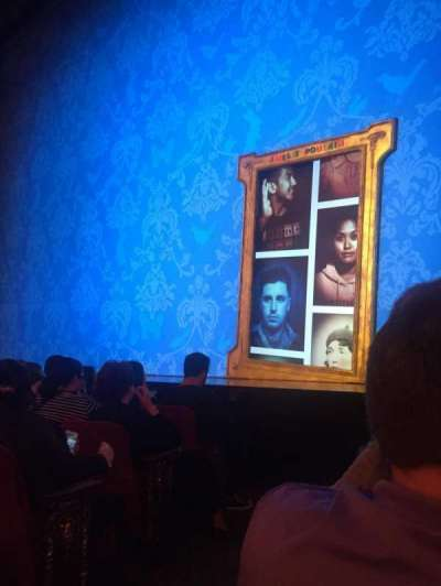 Walter Kerr Theatre, section: Right Orch, row: E, seat: 2