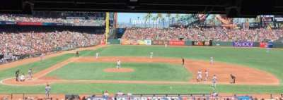 AT&T Park, section: 109, row: 41, seat: 4