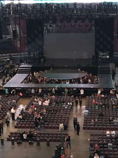 Value City Arena, section: 330, row: A, seat: 12