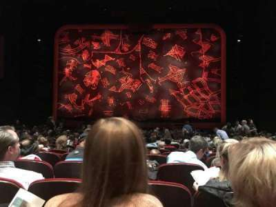 Minskoff Theatre, section: ORCH, row: S, seat: 118