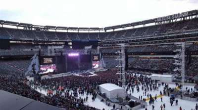 MetLife Stadium, section: 233, row: 1, seat: 3