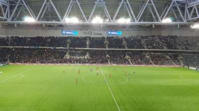 Tele2 Arena, section: B326, row: 6, seat: 290
