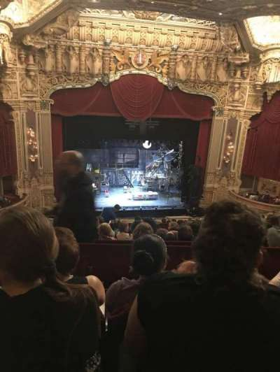 Oriental Theatre, section: Balcony Center Left, row: O