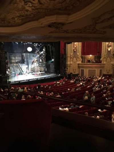 Oriental Theatre, section: Dress Circle Left, row: JJ , seat: 5 and 7