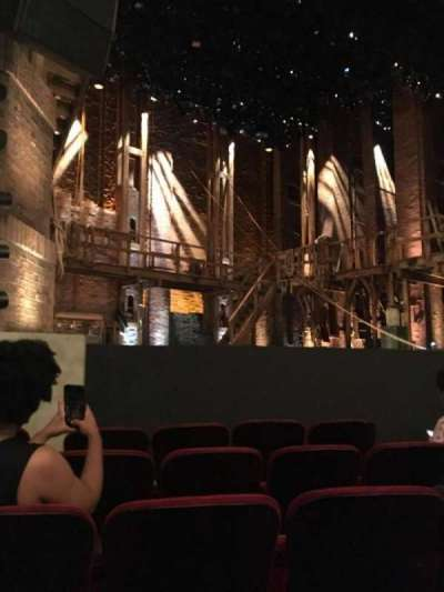 PrivateBank Theatre, section: Orch-L, row: F, seat: 13