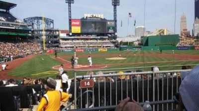 PNC Park section 114