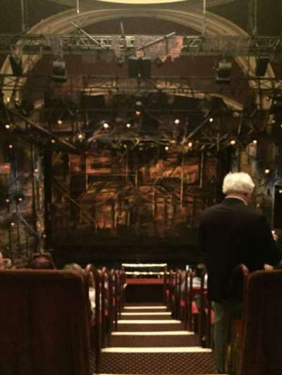 Broadway Theatre - 53rd Street, section: Center Rear Mezz, row: A, seat: 109