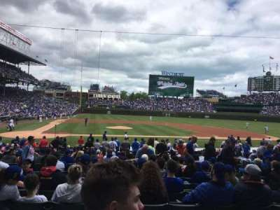 Wrigley Field, section: 127, row: 9, seat: 107