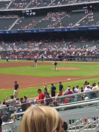 SunTrust Park, section: 138, row: 7, seat: 11