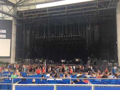 MidFlorida Credit Union Amphitheatre, section: Box 70, row: 1, seat: 3