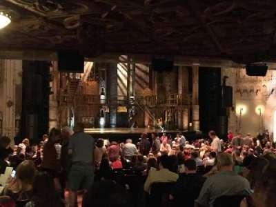 Orpheum Theatre (San Francisco), section: Orchestra L, row: CC, seat: 3