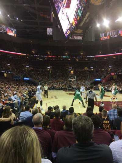 Quicken Loans Arena, section: 16, row: 5, seat: 1