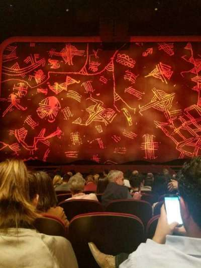 Minskoff Theatre, section: orch, row: L, seat: 113