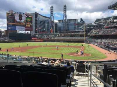 SunTrust Park, section: 128, row: 11, seat: 3