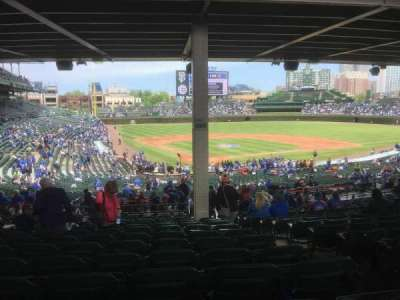 Wrigley Field section 218