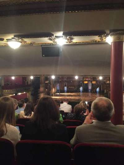 PrivateBank Theatre, section: Dress Circle C, row: G, seat: 210