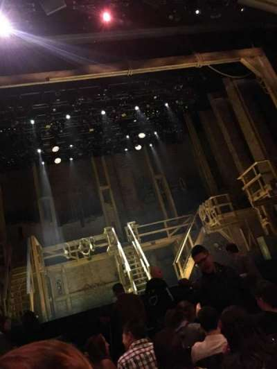 Orpheum Theatre (San Francisco), section: Orchestra, row: G, seat: 105